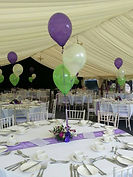 wedding balloons in welshpool