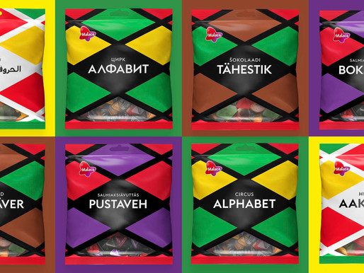 Candy brand Aakkoset added inclusivity into candy bags – advertisement likeability grew by 245 %