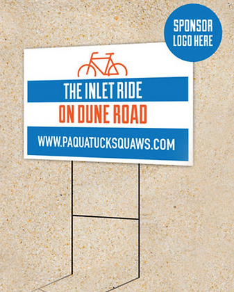 Road Sponsorship Sign