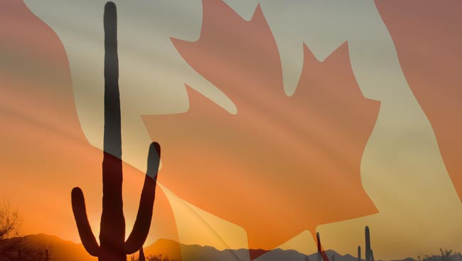 Canadian home buyers looking for real estate opportunities in Arizona.