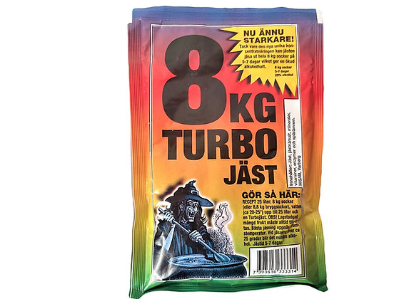 "Stipro dzērienu raugs ""Turbo Jast"""