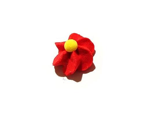 Olbaltuma ziediņi Sarkans
