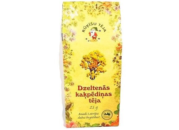 Dzeltenās kaķpēdiņas tēja