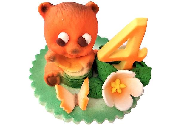 "Dekors bērnu kūkām ""4 gadi"""