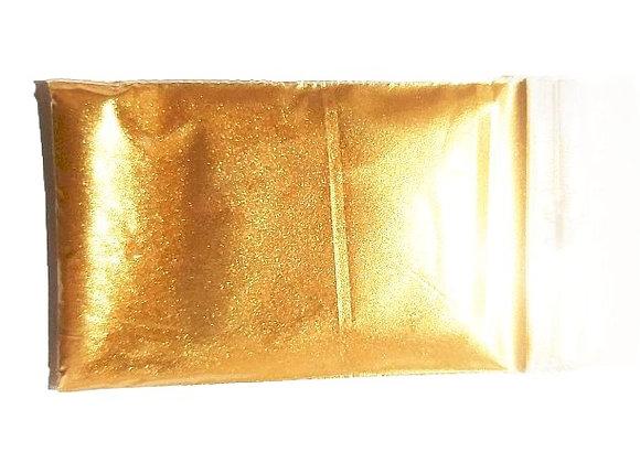 Vecais zelts pulverveida pārtikas krāsviela