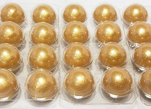 """Šokolādes """"Zelta pērles"""" 15mm"""