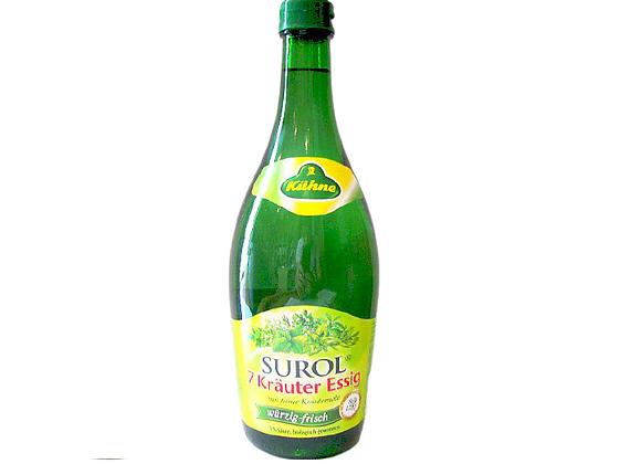 """7 zaļumu etiķis """"Surol"""" 5%"""