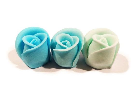 Mazās zilās trīstoņu rozes