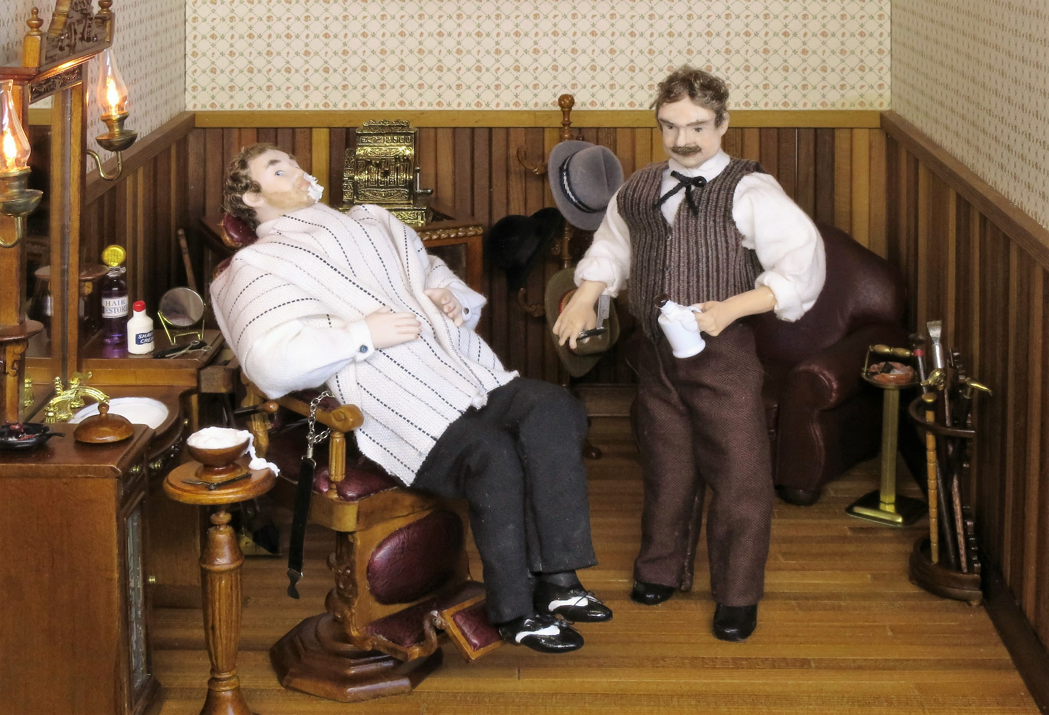 The Barber and Customer