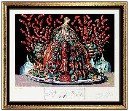 """""""Les Canibalismes de l'Automne"""" by Salvador Dali"""