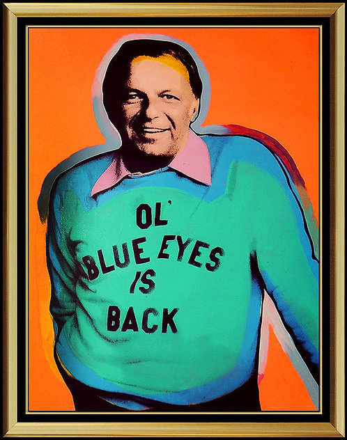 """Original Frank Sinatra - Ol' Blue Eyes is Back"" by Steve Kaufman"