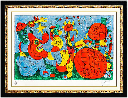 """Ubu Roi III (M.468)"" by Joan Miro"