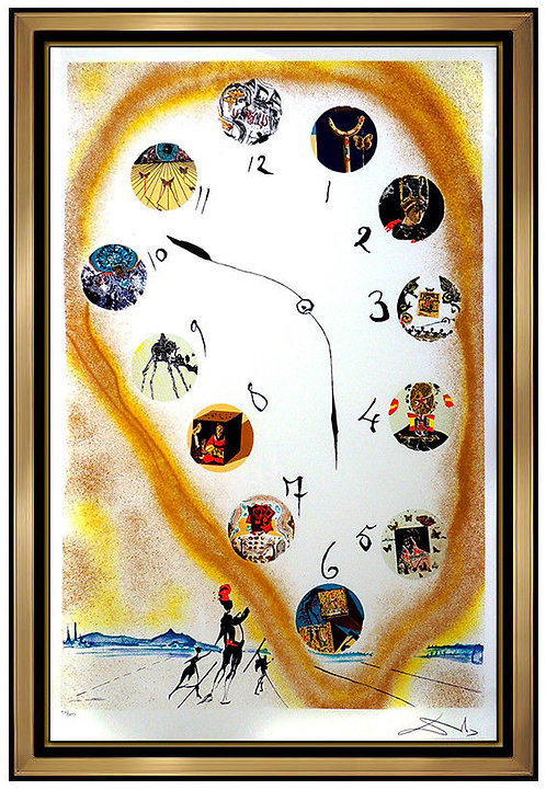 """""""Time and Space"""" by Salvador Dali"""
