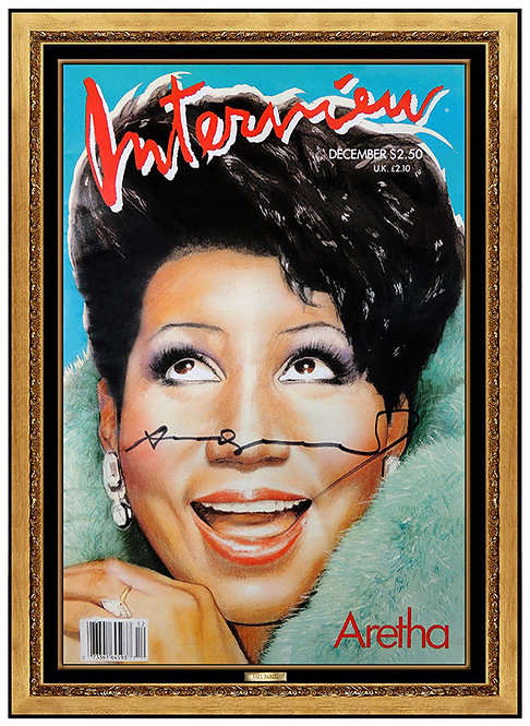"""Aretha Franklin"" by Andy Warhol"