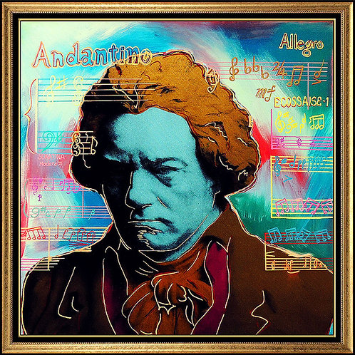 """Beethoven"" by Steve Kaufman"