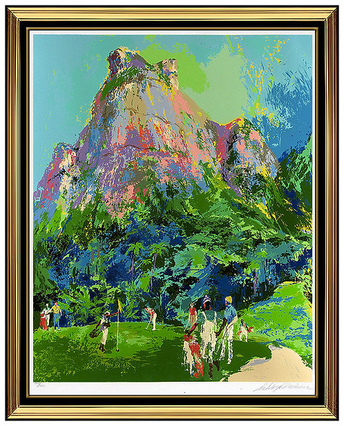 """International Golf Foursome"" by Leroy Neiman"