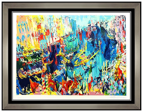 """Regatta of the Gondoliers"" by Leroy Neiman"