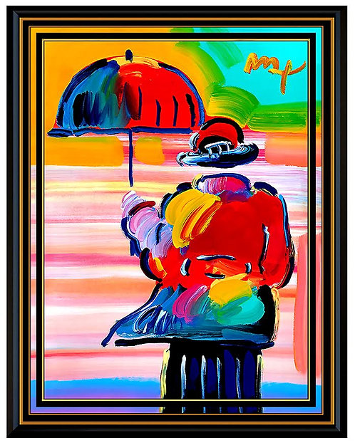 """Umbrella Man"" by Peter Max"