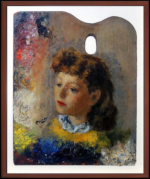"""Original Portrait of Imagination"" by Robert Phillip"