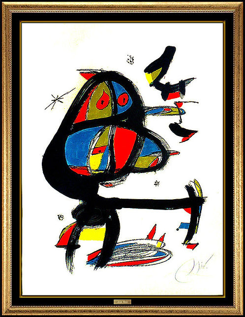 """Cap I Cua"" by Joan Miro"
