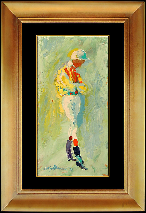 """Original Jockey"" by Leroy Neiman"