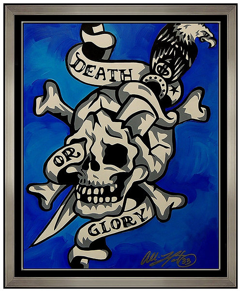 """Death or Glory Original"" by Allison Lefcort"