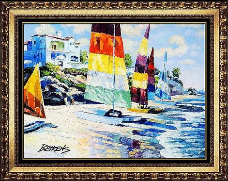 """""""Original Summer Sails"""" by Howard Behrens"""