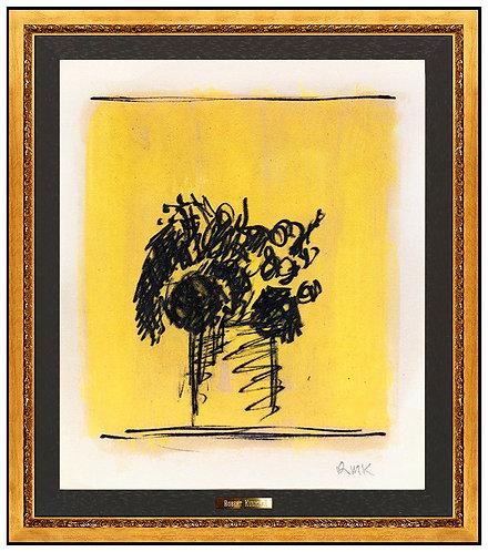 """Original Yellow Bouquet"" by Robert Kulicke"