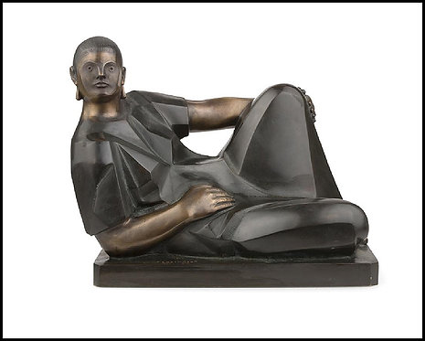 """Reclining Woman"" by Felipe Castaneda"