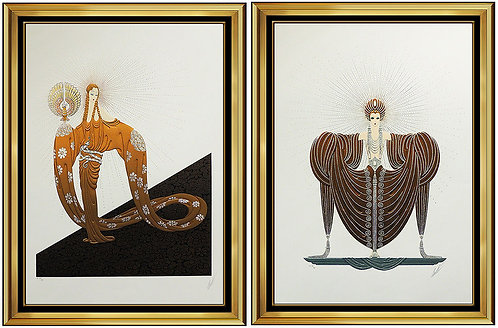 """The Celestial Virtues Suite"" by Erte"