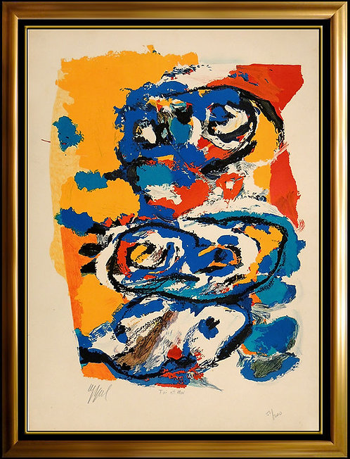 """Toi et Moi"" by Karel Appel"