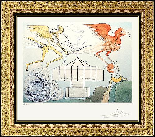 """The Aeroplane"" by Salvador Dali"