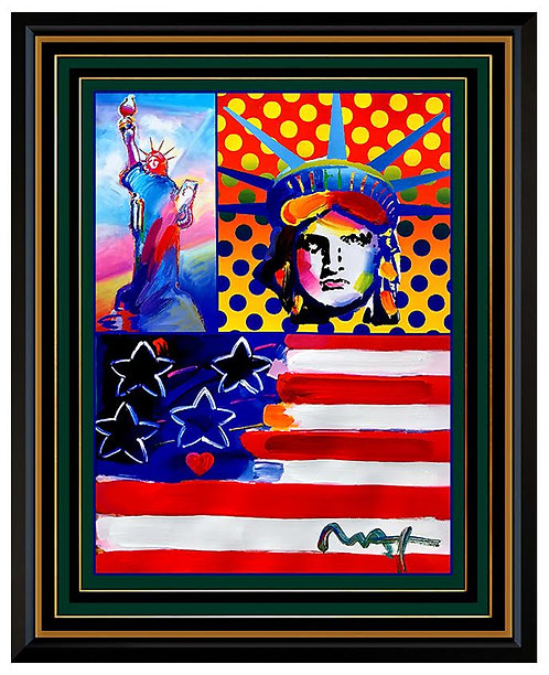 """""""God Bless America"""" by Peter Max"""