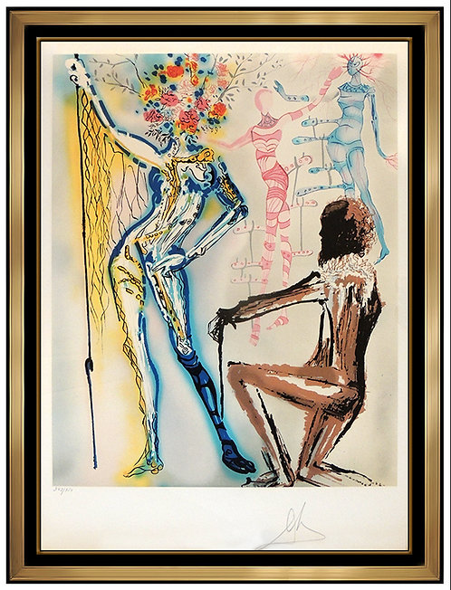 """The Fashion Designer"" by Salvador Dali"