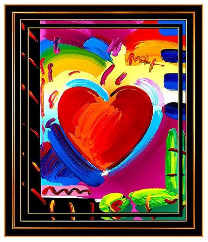 """""""Original Pop Art Heart"""" by Peter Max"""
