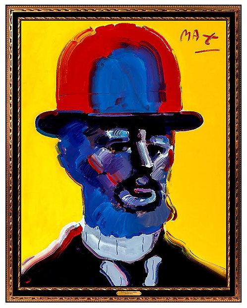 """Original Toulouse Lautrec"" by Peter Max"