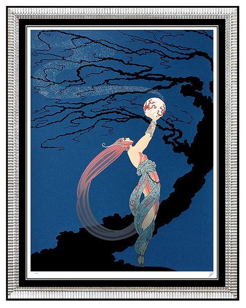 """""""Fireflies"""" by Erte"""