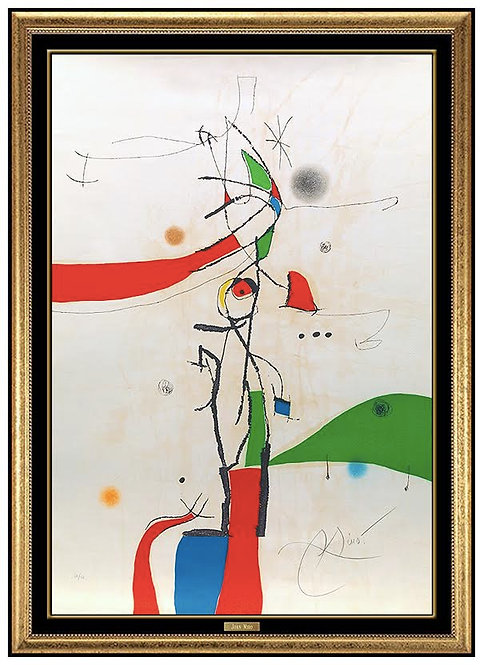 """Demi-Mondaine a sa Fenetre"" by Joan Miro"