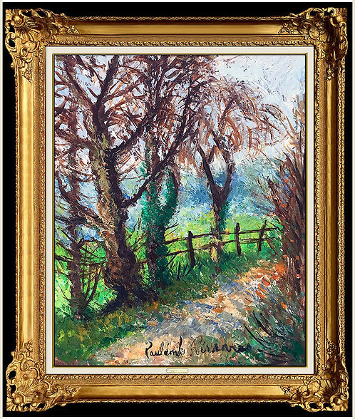"""Original Le Sentier"" by Paul Emile Pissarro"