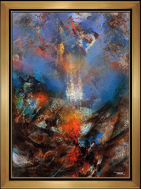 """""""The Castle"""" by Leonardo Nierman"""