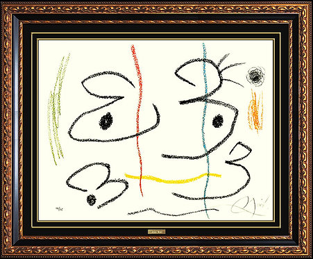 """""""Plate 1, from Album 21"""" by Joan Miro"""