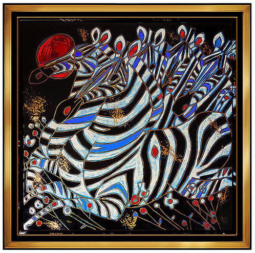 """""""Imperial Zebras"""" by Tie Feng Jiang"""