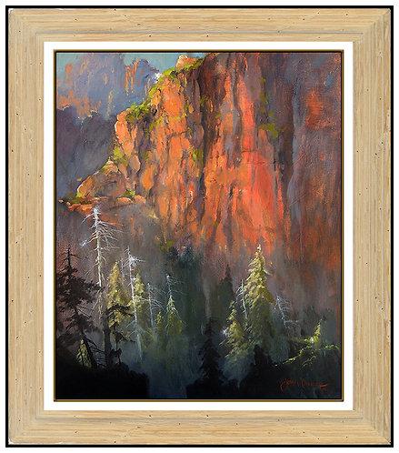 """""""Original Sunset Canyon"""" by James Coleman"""