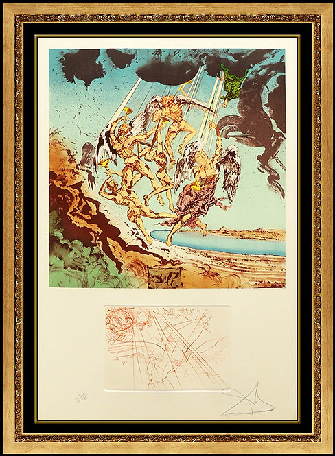 """""""Return of Ulysses"""" by Salvador Dali"""