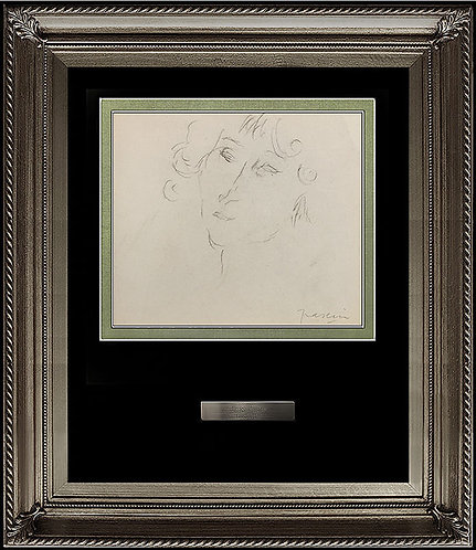 """""""Study of Elegance"""" by Jules Pascin"""