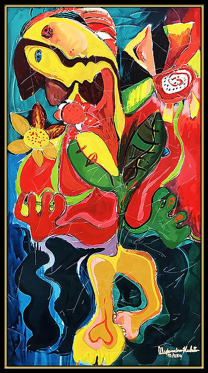 """Sunflower Field"" by Alexandra Nechita"
