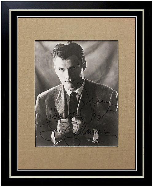 """Jack Palance Signed Photograph"""
