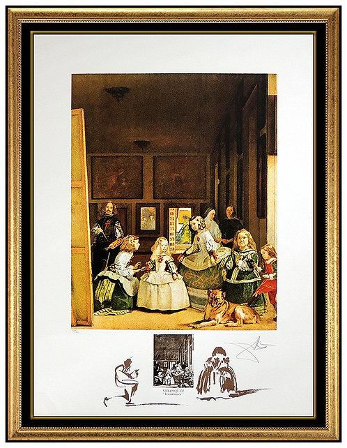 """Velazquez: Les Menines"" by Salvador Dali"