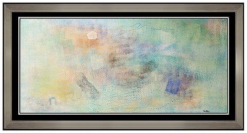 """""""Blue Gaze - Original"""" by Robert Narkin"""
