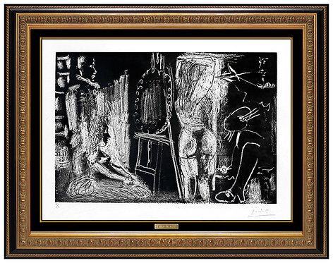 """""""Dans l'Atelier"""" by Pablo Picasso"""